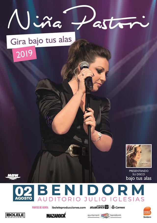 Benidorm Nina Pastori Girando bajo tus alas 2019