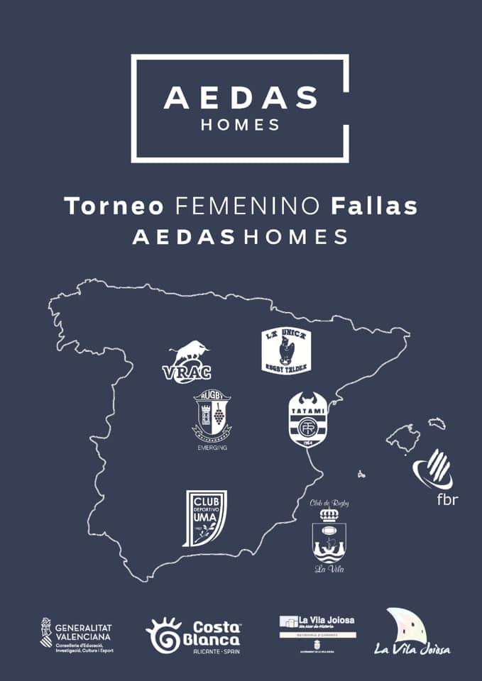 Torneo Femenino Fallas AEDAS HOMES rugby la vila joiosa 2019