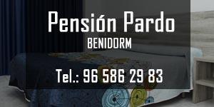 Pensión Pardo, lugar en el que dormir en Benidorm