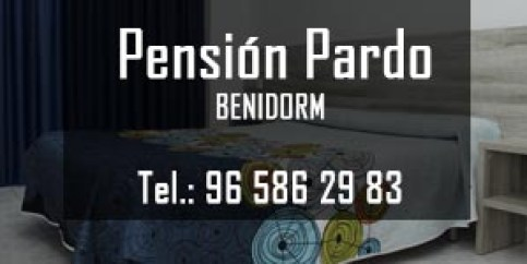 Pension Pardo - Benidormpension benidorm