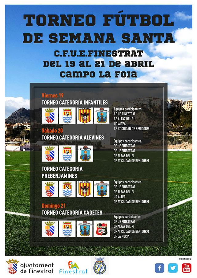 Torneo de futbol de Semana Santa Finestrat 2019