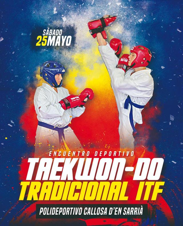 Encuentro Taekwondo ITF Callosa 2019