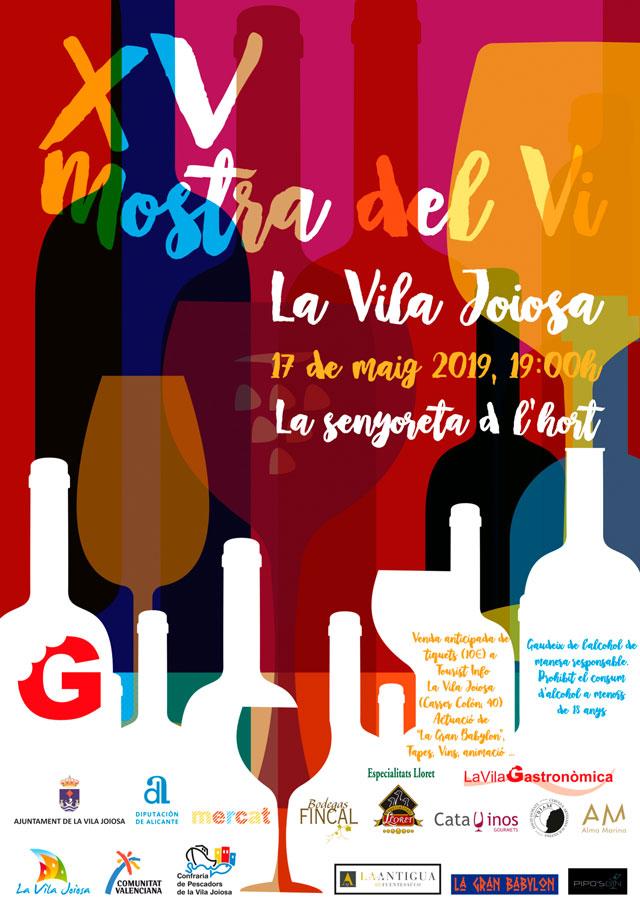 XV Mostra del Vi Vila Joiosa 2019