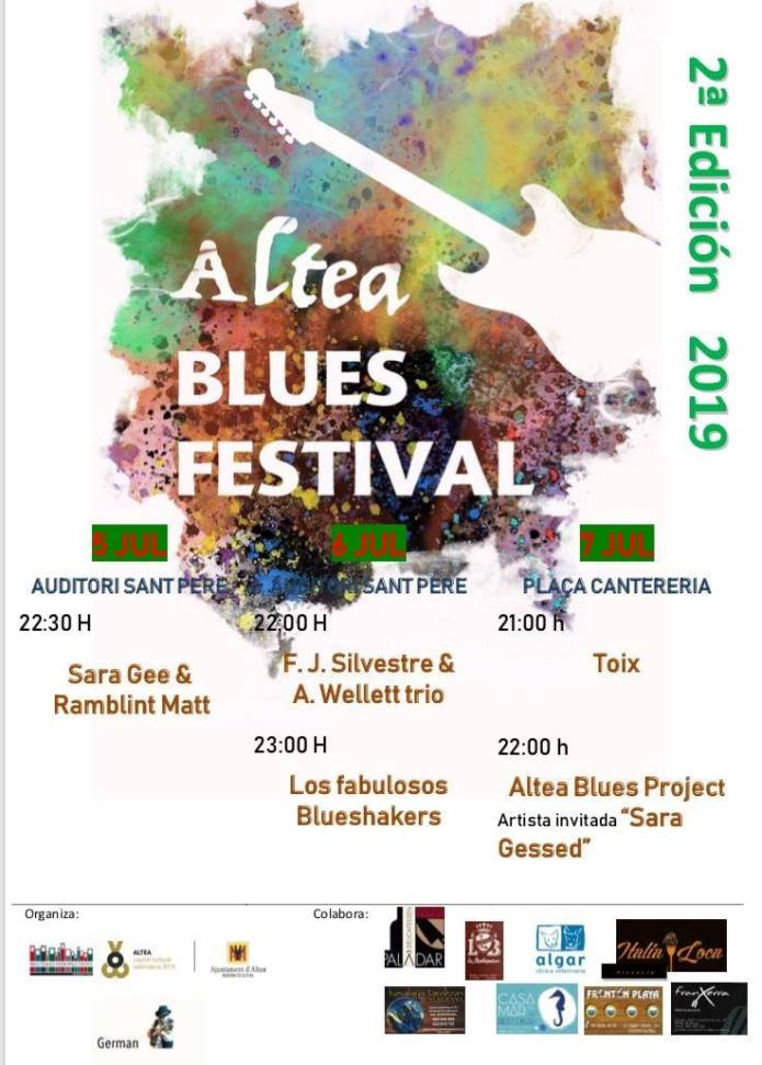 Altea Blues Festival 2019