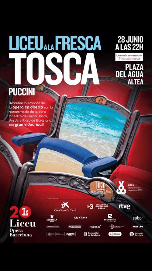 Altea Liceu a la Fresca Tosca Puccini 2019