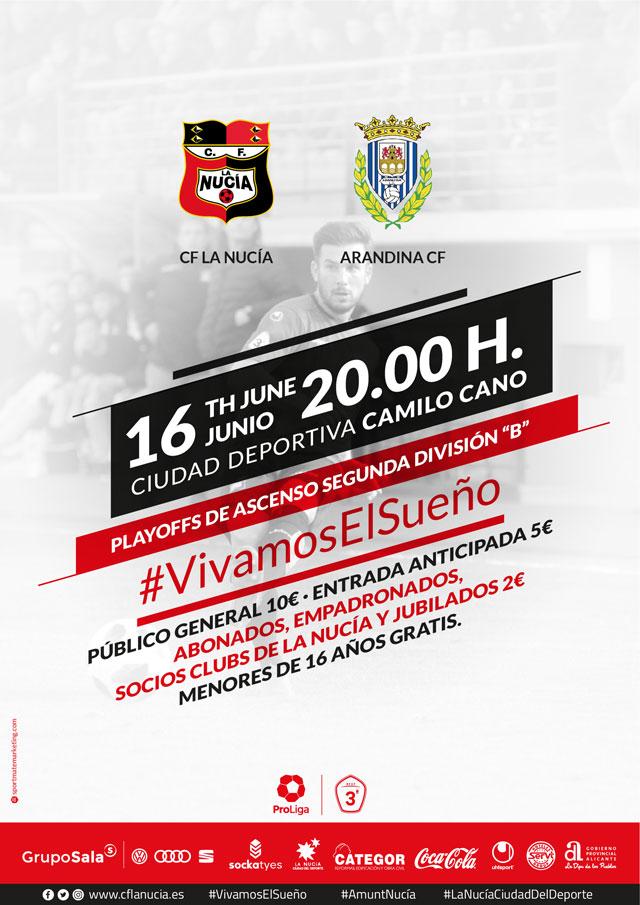 CF la Nucia vs Arandina 2019