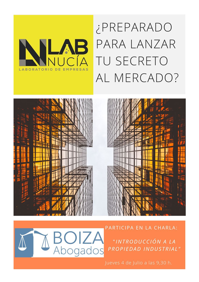 La Nucia Lab Nucia taller marcas patentes 2019