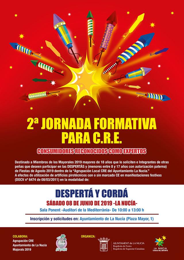 La Nucia curso cohetes 2019