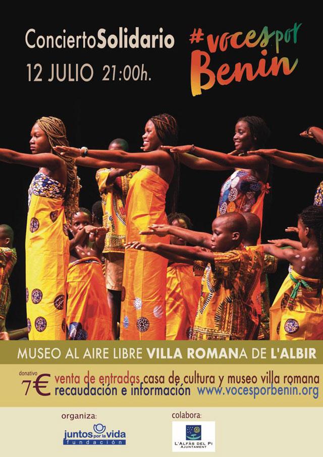 Concierto solidario del coro BeningBe Alfas del Pi 2019