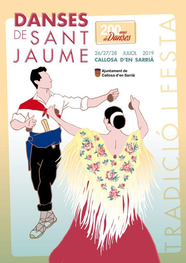 Danses Sant Jaume Callosa Sarria 2019