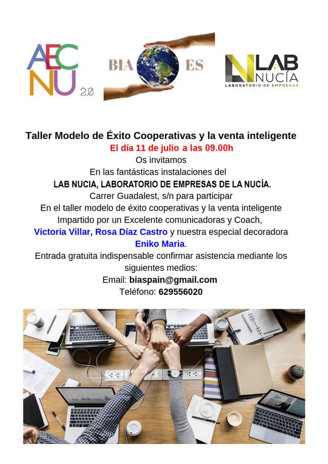 La Nucia LAB modelo Taller Cooperativa 2019