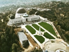 Griffith Observatory from the air, January 2006