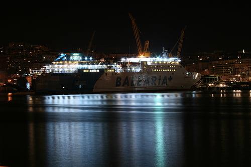 Botadura de Ferry en Barreras
