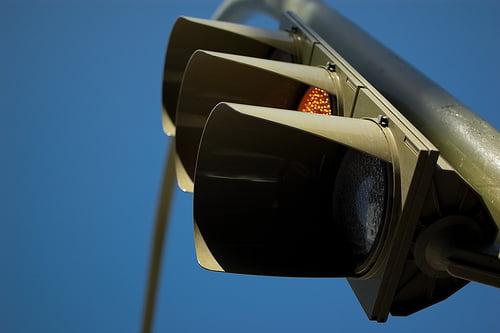 Homenaje al semáforo de Teis