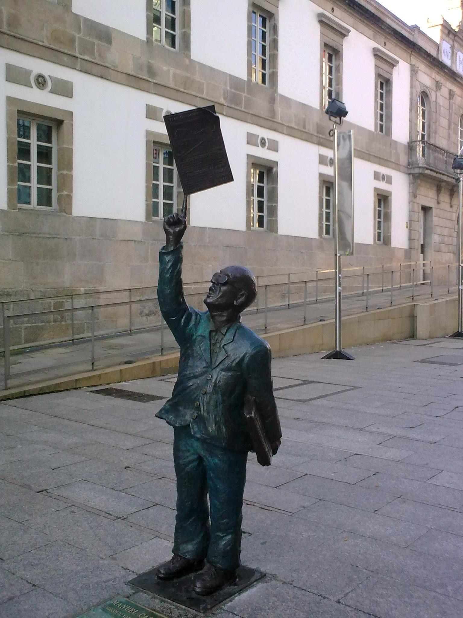 La última estatua de la Calle Príncipe