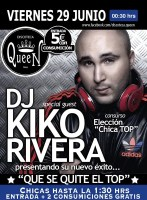 Kiko Rivera en Queen