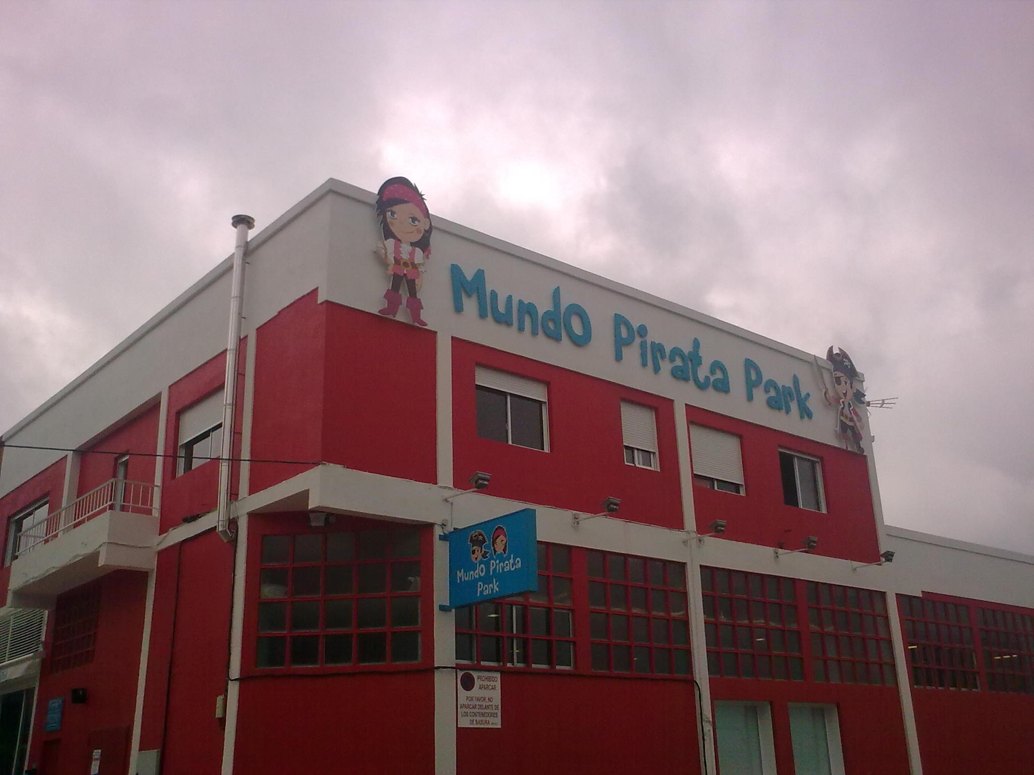 Mundo Pirata Park, hinchables para los niños.