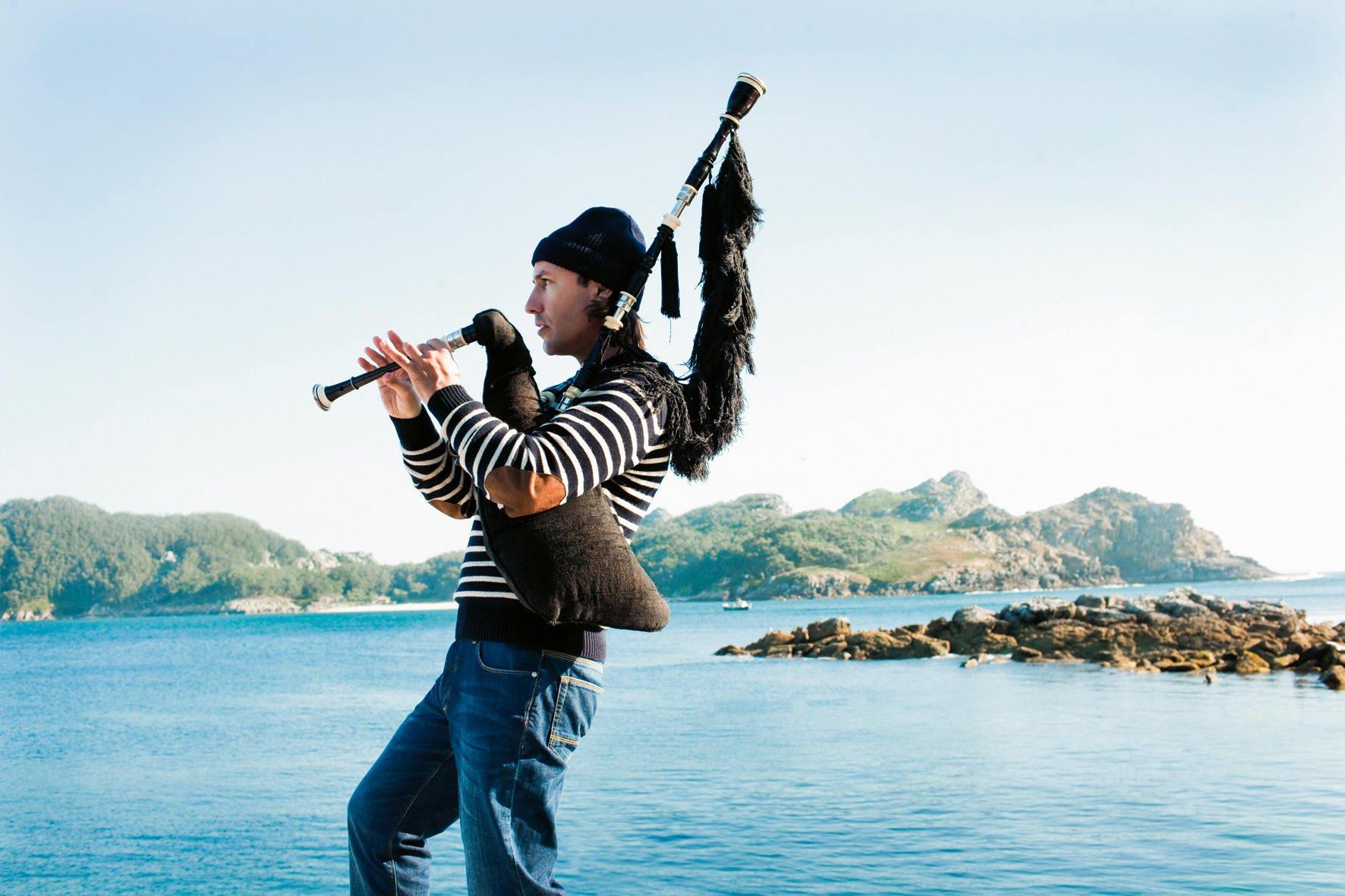 Carlos Nuñez, concierto en Vigo   Afundación