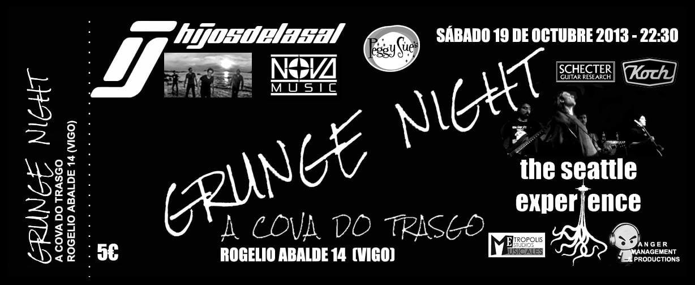 Grunge Night: Rock & Grunge a la máxima potencia