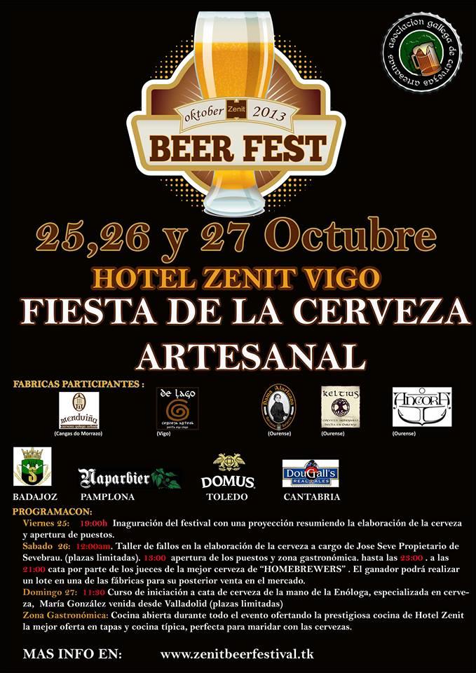 Fiesta de la cerveza artesanal 2013 en Vigo