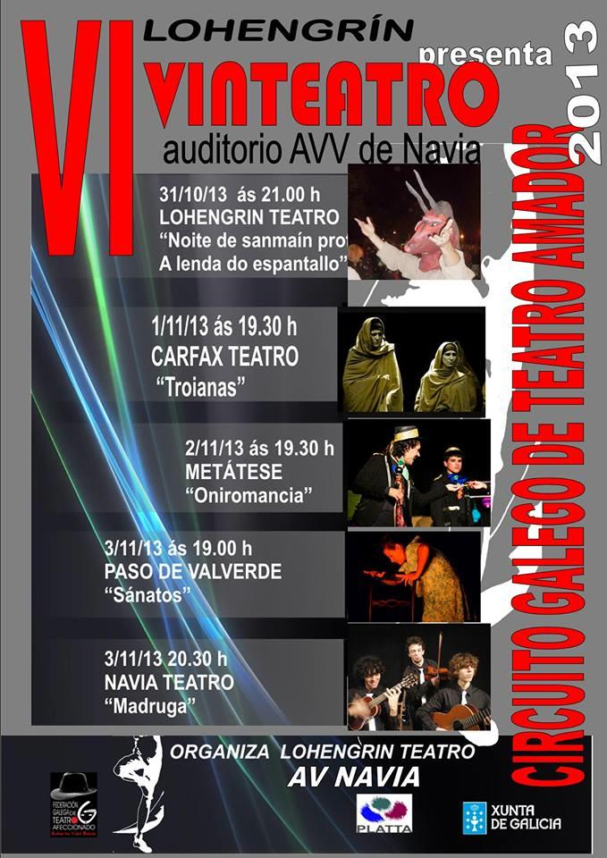 Certamen teatral, VI Vinteatro en Navia