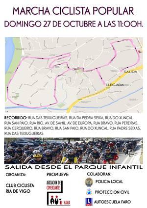 Marcha Ciclista Popular en Navia