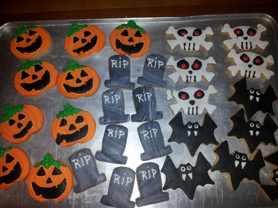 Taller infantil de galletas de Halloween