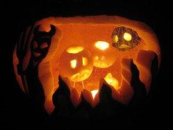 Oktober Halloween