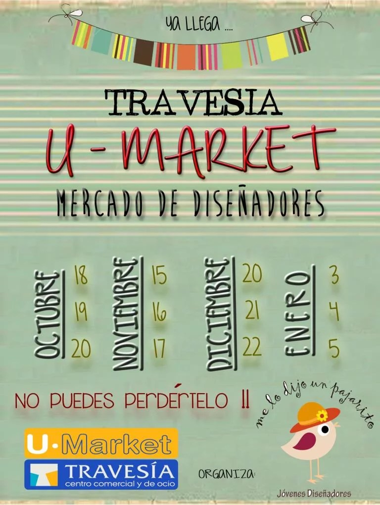 U-Market, mercadillo Indoor