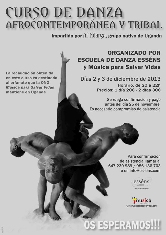Curso de Danza Africana Solidario