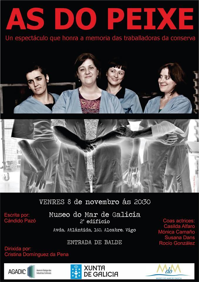 """""""As do Peixe"""" en el Museo del Mar"""