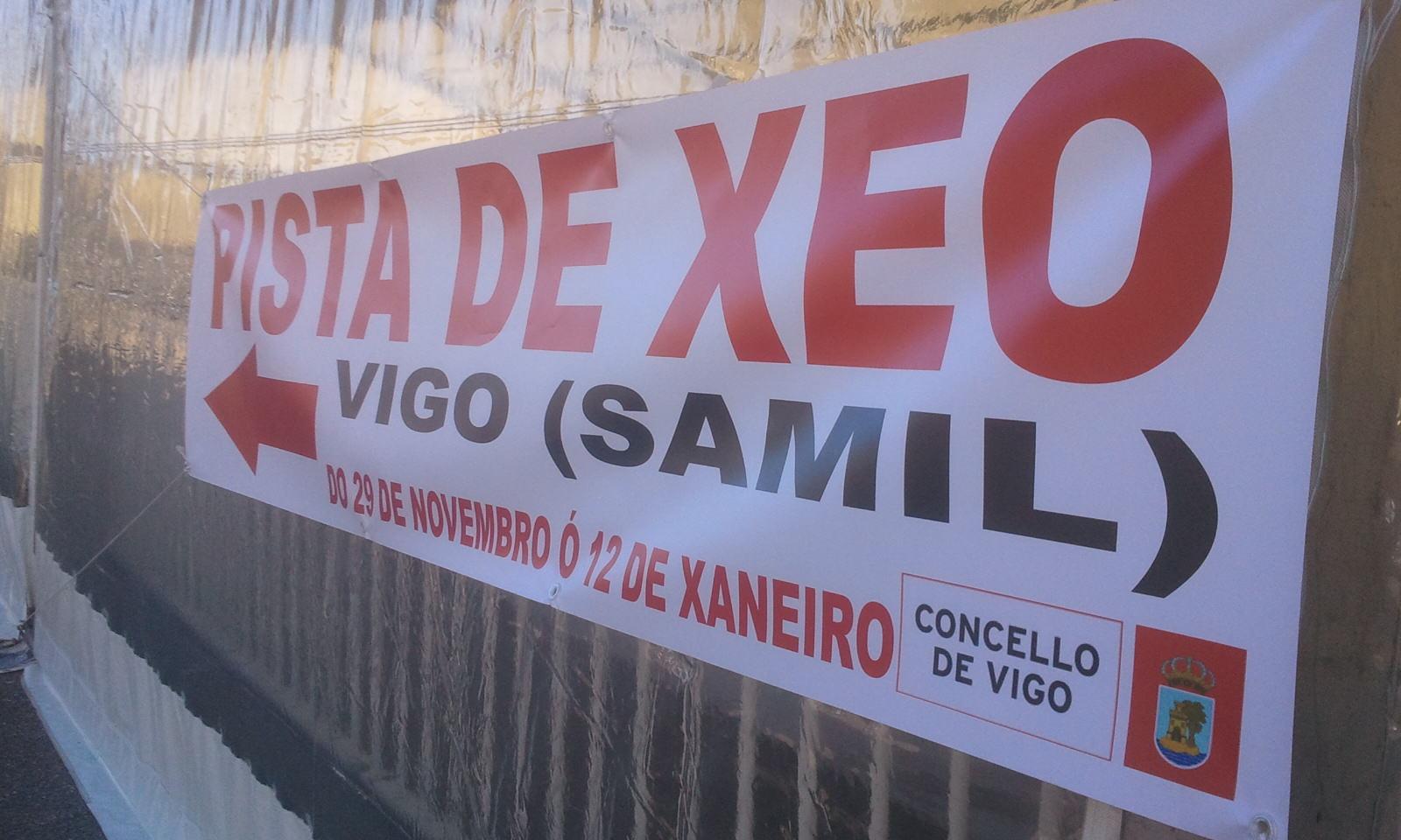 Pista de Hielo 2013 en Samil