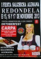Oktoberfest – Fiesta de la Salchicha alemana en Redondela 2013