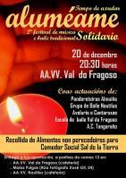 Aluméame, festival de música tradicional solidario