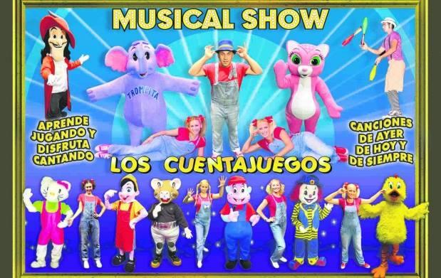 Circo Musical Cuentajuego en Vigo