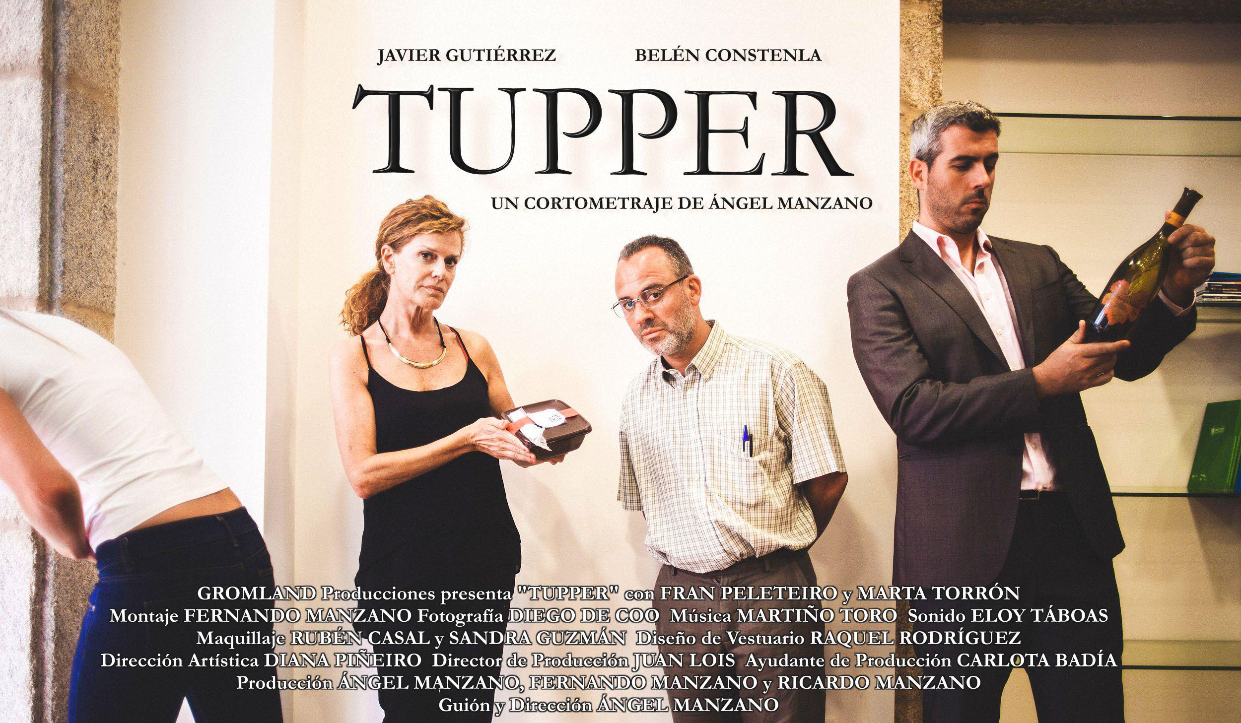 """""""TUPPER"""", ÓPERA PRIMA DEL VIGUÉS ÁNGEL MANZANO."""