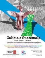 Galicia e Guatemala unidos por el arte