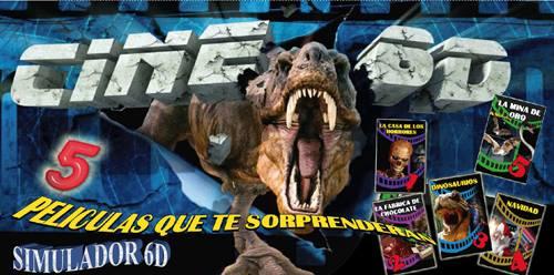Cine 6D, simulador en Vigo