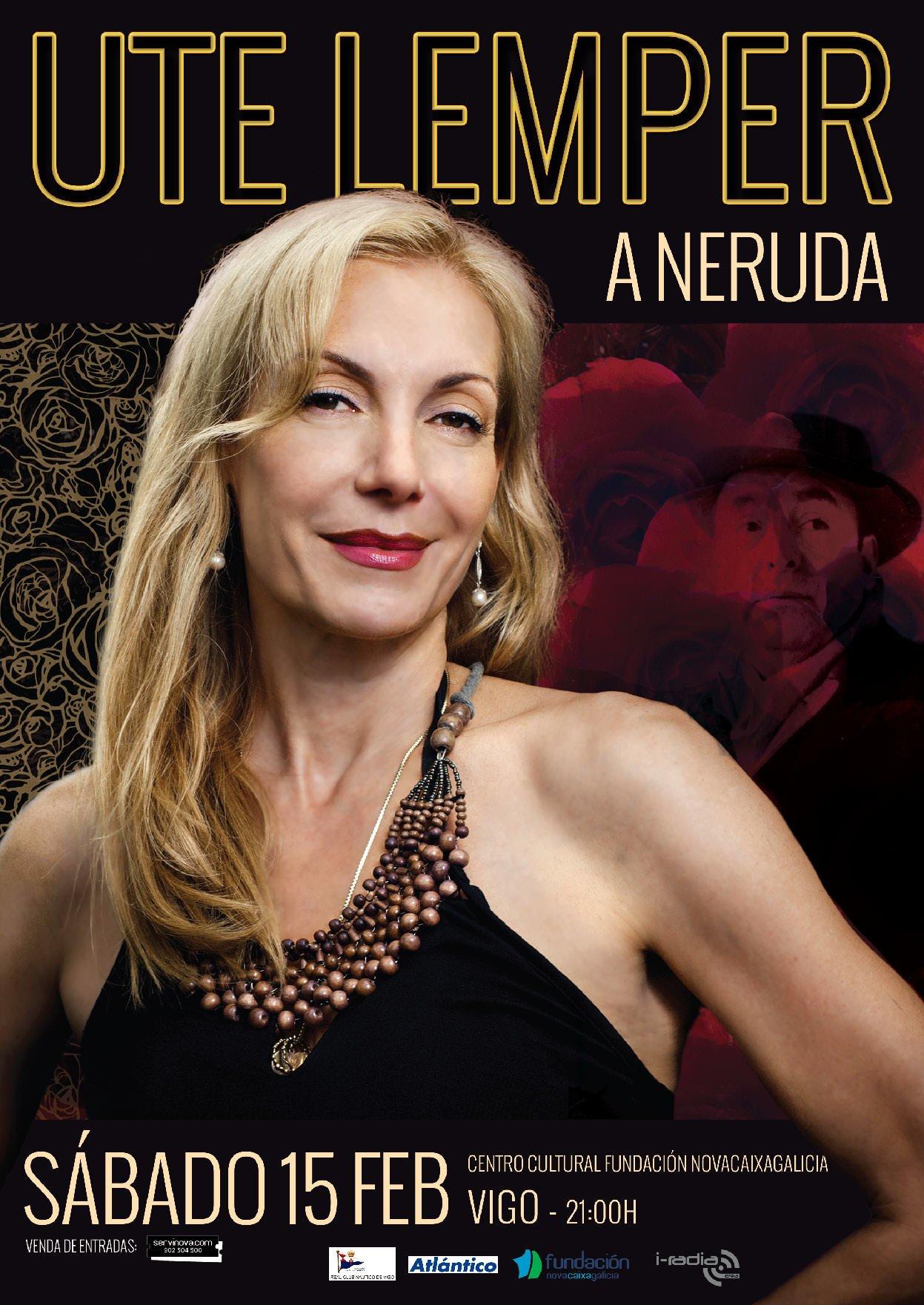 Ute Lemper canta a Pablo Neruda