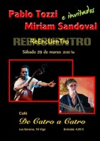 Concierto de Pablo Tozzi e Mirian Sandoval