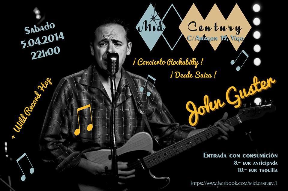 Concierto John Guster – Aniversario Mid Century