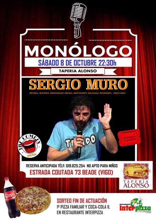 monólogo de Sergio Muro