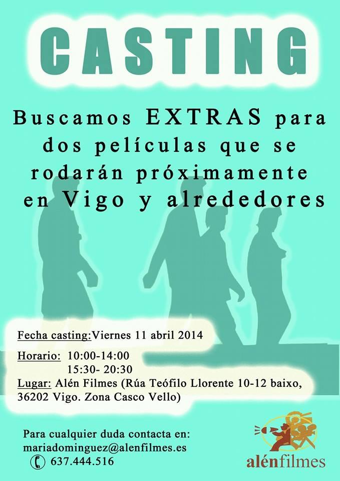 Casting Alén Filmes en Vigo