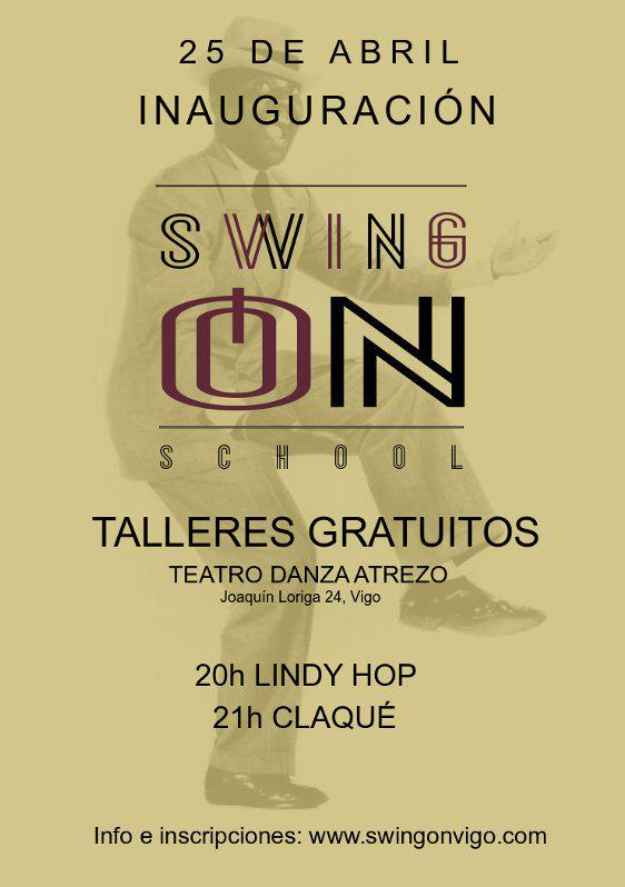 Inauguración Swing On School – Talleres gratuitos