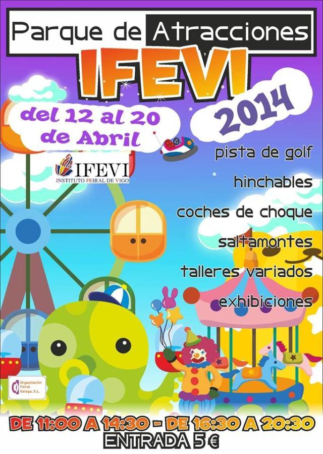 parque de atracciones ifevi vigo 2014