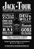 Jack Tour en Vigo. 16 de Mayo Mondo Club
