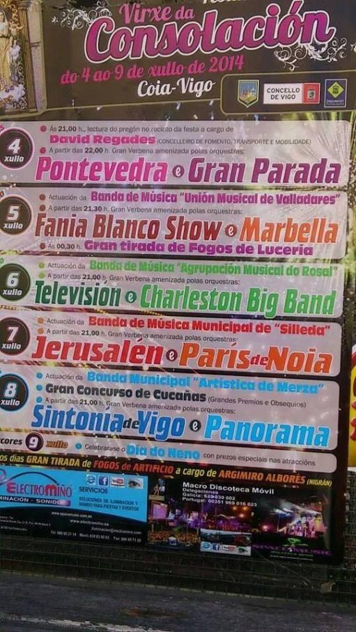 Fiesta de Coia 2014