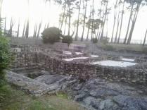 Yacimiento de la Villa Romana de Toralla