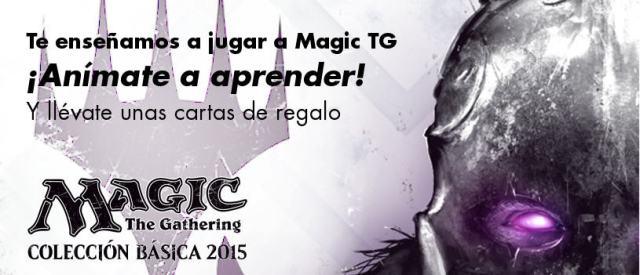 Iniciación al juego de Magic the Gathering