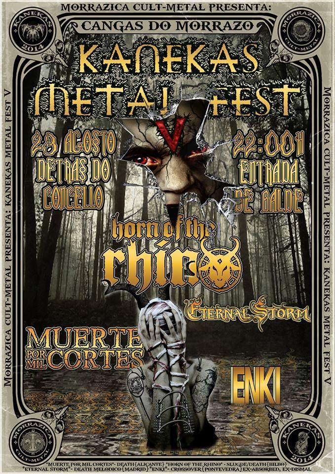 Kanekas Metal Fest 2014